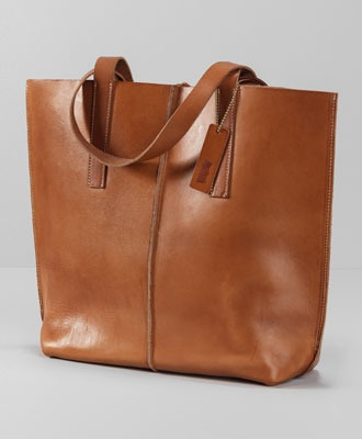 // <3 //   Levi's Crafted Leather Tote Bag - Camel - Bags