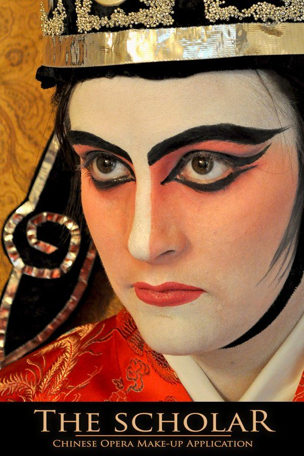 The Scholar - Chinese Opera makeup application