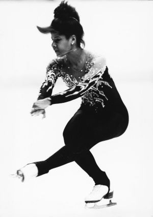 This Day in Black History: Feb. 8, 1986 - On Feb. 8, 1986, figure skater Debi Thomas became the first African-American to win the Women's Singles of the U.S. National Figure Skating Championship competition while studying as a pre-med student at Stanford University. She was the first Black woman to win a national figure skating title.