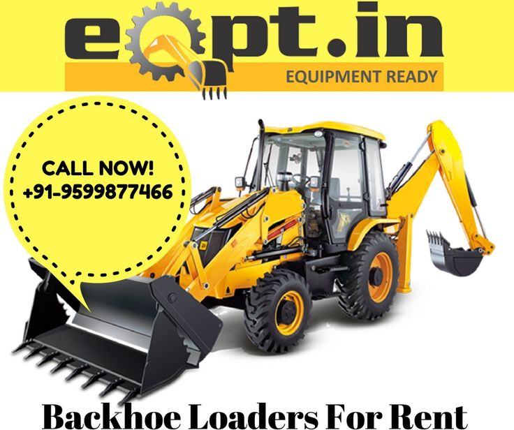 Are you looking backhoe loader for rent? EQPT.IN is best solution - All Construction Equipment Rental Service Provider at Best Price. Get a free quote here or give us a call at +91-9599877466. we provide services in Kolkata, Delhi/NCR, Pune, Mumbai, Bengaluru, Hyderabad and all over India.