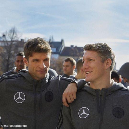 Thomas Müller & Bastian Schweinsteiger
