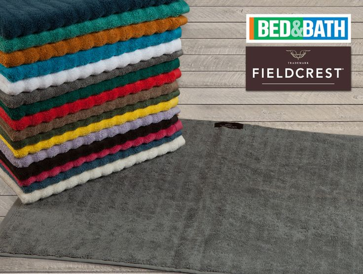 Χαλάκι Μπάνιου FIELDCREST Superior μονόχρωμο 100% βαμβάκι 50X70cm - Bath Mat FIELDCREST Superior Ultrasoft Solid 100% Combed Cotton