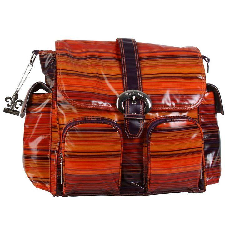 Kalencom Double Duty Diaper Bag, Orange