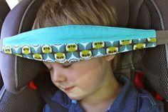 SlumberSling proteção para cabeça das crianças durante passeio de carro - Casinha da Cys