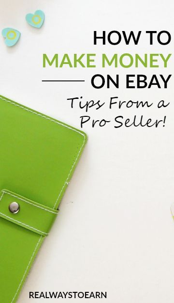 How to make money on eBay - tips from a pro seller! via @RealWaystoEarn