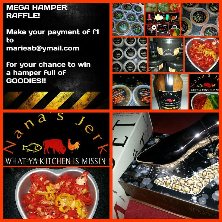 Evening all! With mothering Sunday approaching on the 30th of this month, we are having a MEGA HAMPER RAFFLE DRAW containing gifts worth over £100! All for as little as £1.00!!!!!!  YES THATS RIGHT!  £1:00!!!  Here's how it works Simply make a payment of £1:00 ONLY to marieab@ymail.com We will send you your raffle ticket number,  inbox us with your name, address and contact details and towards the end of the month,  we do the draw, if you are a winner, you will be contacted by one of our…