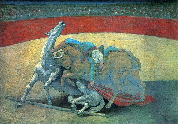 Pablo Picasso. Courses de taureaux (Corrida). 1934