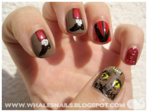 16 best mj nails images on pinterest beauty stuff celebrity michael jackson thriller nails prinsesfo Gallery