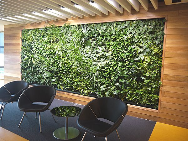 Vertical Garden Green Wall Inspiration Flowers
