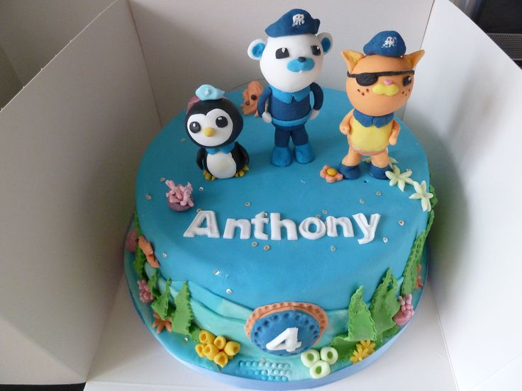 15 best Octonauts Cakes Cupcakes images on Pinterest Octonauts