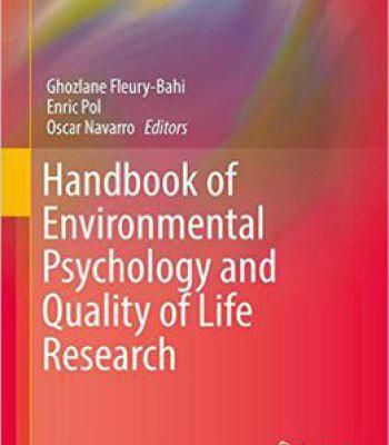 Handbook Of Environmental Psychology And Quality Of Life Research PDF