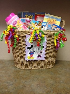 Disney Wedding Gift Basket : Gift Baskets on Pinterest Coffee gift baskets, Wedding gift baskets ...