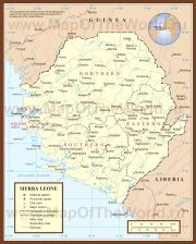 Карты Сьерра-Леоне