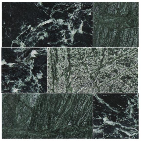 En stilren, snygg och exklusiv grön marmor. Kombinera gärna grön marmor med detaljer i mässing för att få fram en träffsäker och trendig kombination. Läs mer på Stonefactory.se