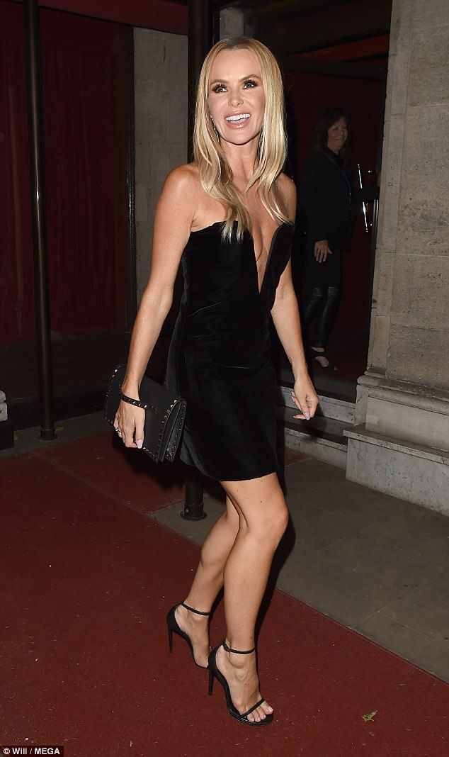 Amanda Holden, 47, wows in VERY revealing LBD at BGT ...