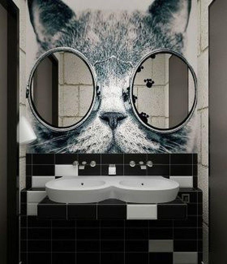 50 superbes idées de décor de miroirs de salle de bains