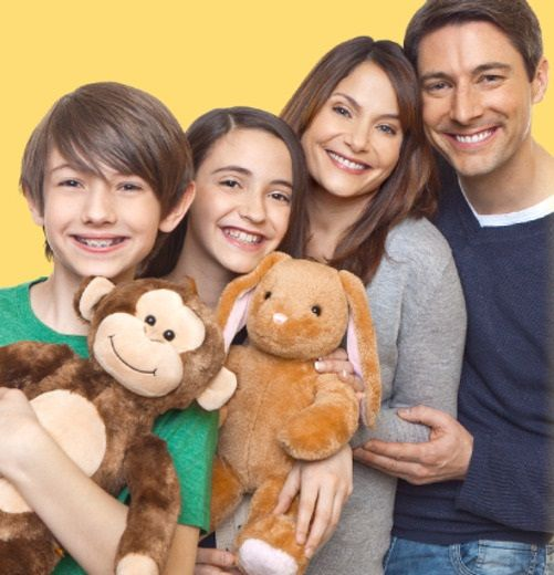 Spend a tenner and get a £20 voucher for a Build-A-Bear Workshop! Build your own bear, bunny or dog!  #dailydeals
