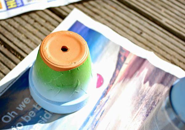 17 mejores ideas sobre macetas de terracota en pinterest - Como decorar macetas de barro ...