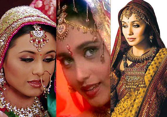 Rani Mukerji's bridal avatars (see pics)