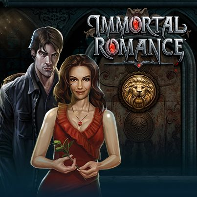 Experience the dark side of love on the Immortal Romance slot game.