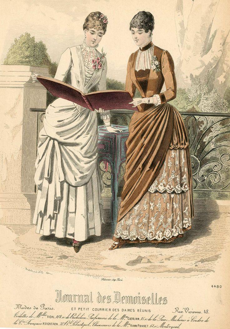 Journal des Demoiselles 1884
