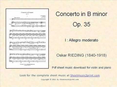Rieding : Concerto Op. 35 1/3 www.sheetmusic2print.com/Rieding/Concerto-35.aspx