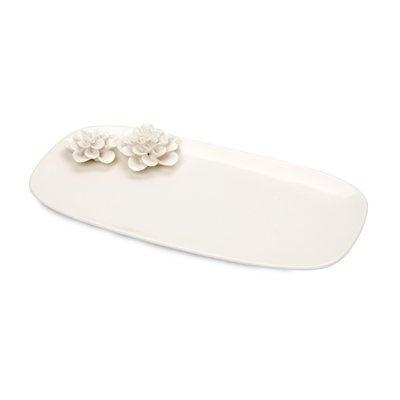 White Blossom Tray
