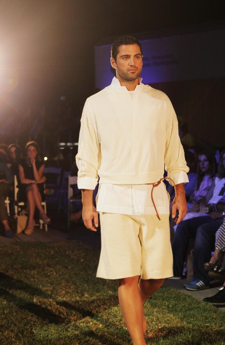 Ioannis Guia in DoItEco Cyprus Fashion Show