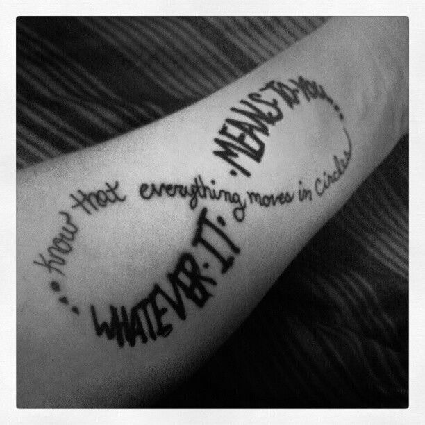 Such a great incubus tattoo!!!!