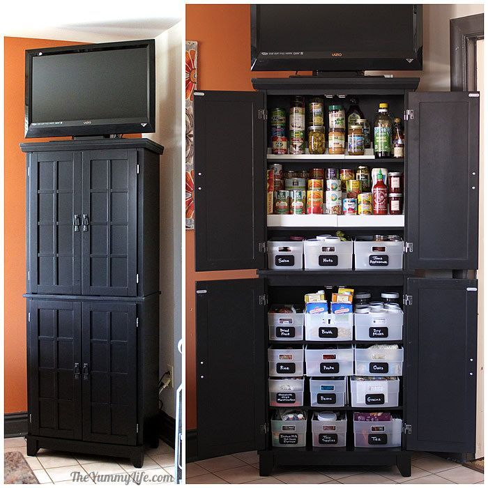 Kitchen Storage Pantry Cabinet best 25+ free standing pantry ideas only on pinterest | standing