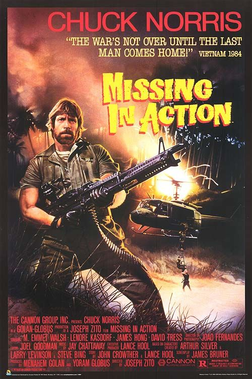 175) Missing In Action - Watched 12/31/2013 via Personal Collection