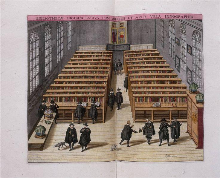 De oudste universitaire bibliotheek van Nederland is die van Leiden (wat ook meteen de oudste Universiteit van het land is). Ook hier vindt je een bijzondere collectie aan wetenschappelijke boeken