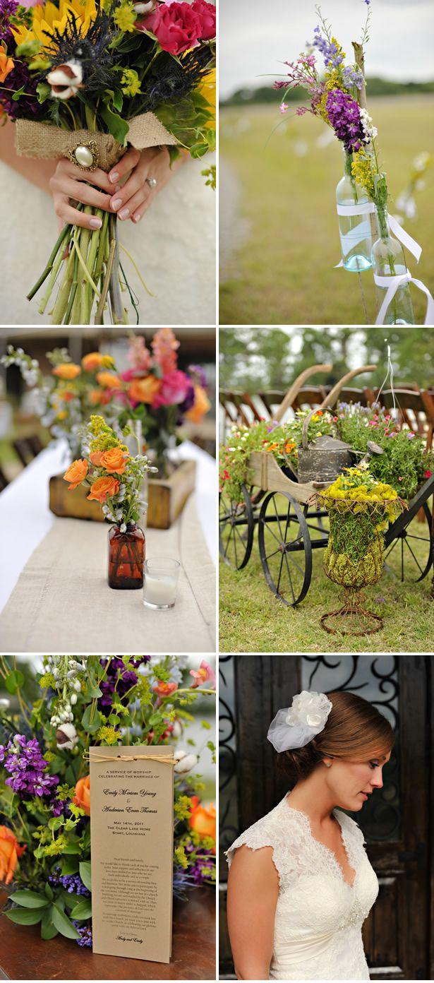 Backyard Wedding in Louisiana - LAUREN! Look at this wedding!...