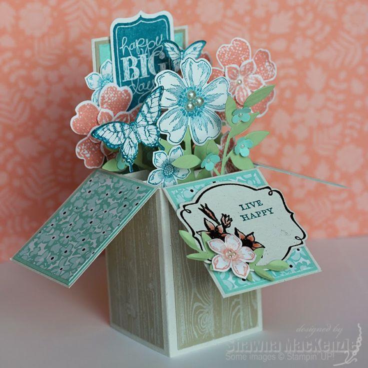 Поп ап коробки открытки