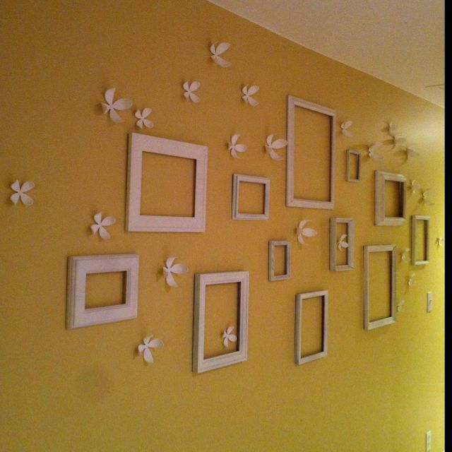 Narrow Wall Decoration Ideas : Hallway wall decor perfect for my long narrow