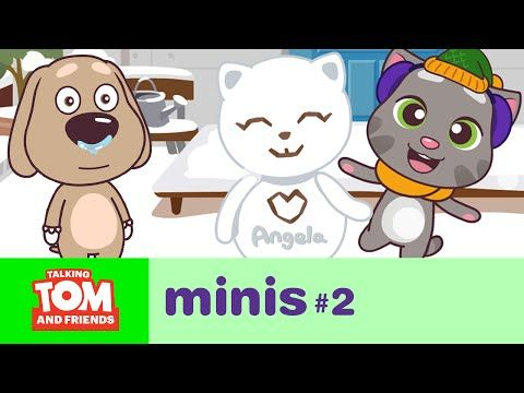 Talking Tom and Friends Minis ep.2 - A Rough Start - YouTube
