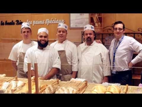 Carrefour Côté Coulisses : Boulangerie - YouTube