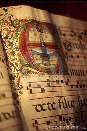 Illuminated manuscript, Florence.