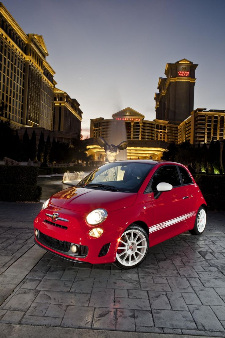 2012 Fiat 500 Abarth - I'm actually thinking about getting one of these.