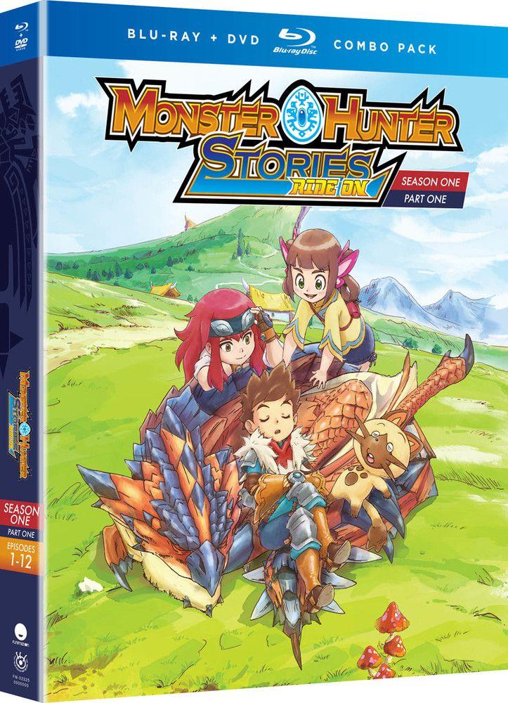 Monster Hunter Stories Ride On Season 1 Part 1 Blu Ray Dvd