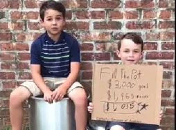 Tre' And Cooper Bishop Need Your Help 'Filling The Pot' for Catholic Services Of Acadiana [VIDEO]
