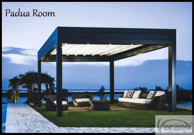 Padua RoomV647 Luxe terrasvouwdak van Verano® België! #Verano #VeranoBE #patio #terrasvouwdak #overkapping
