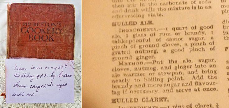 Mrs Beeton's Mulled Ale Recipe - might be useful tomorrow  night. #guyfawkesnight #recipes