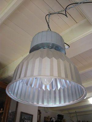 027 Industrielamp metaal diameter 48 cm