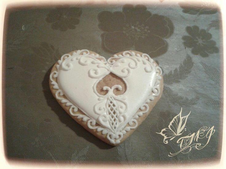 Valentine's day love cookie by TMJcreative.