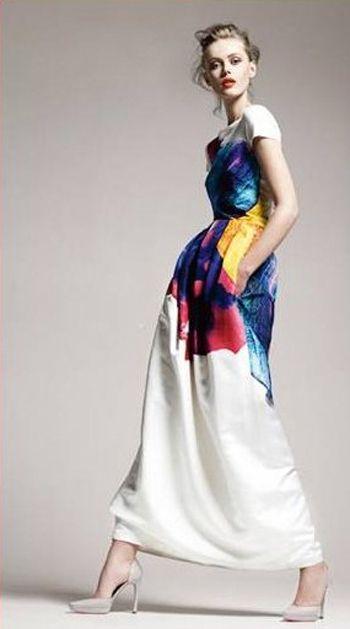 {wishlist wednesday} watercolour clothing