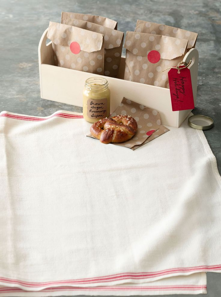 Pretzels with Brown-Sugar Rosemary Dijoncountryliving