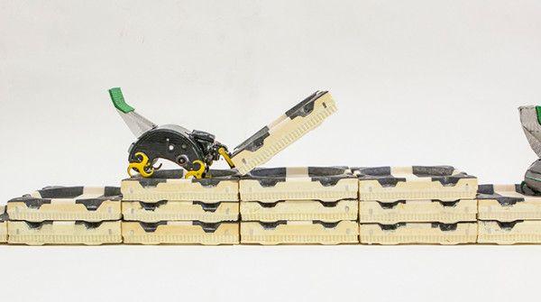 I robot che lavorano come le termiti
