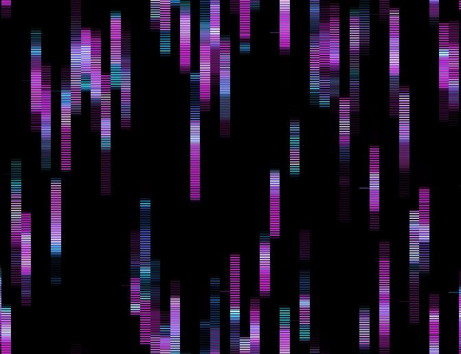 Picture 50 phoney glitch patterns