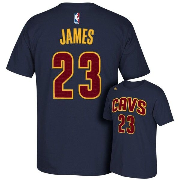 Adidas Cleveland Cavaliers LeBron James Tee ($29) ❤ liked on Polyvore featuring men's fashion, men's clothing, men's shirts, men's t-shirts, blue, adidas mens shirts, mens leopard print t shirt, mens print shirts, j crew mens shirts and mens patterned t shirts